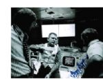 Gerry Griffin NASA Flight Director genuine signed 10 by 8 photograph